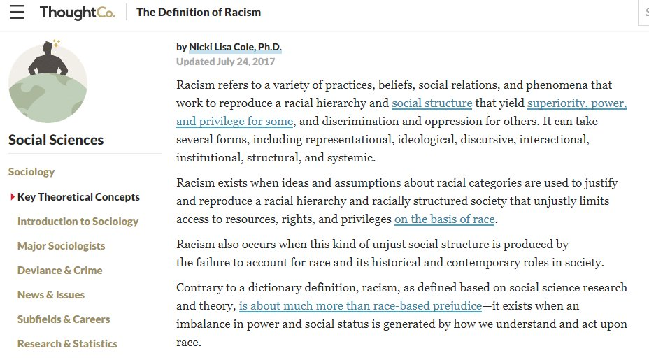 the definition and existance of race and racism Definition of race and racism – our online dictionary has race and racism information from encyclopedia of bioethics dictionary encyclopediacom: english, psychology and medical dictionaries.