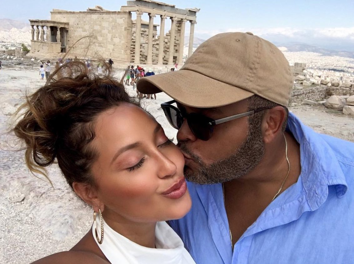 Adrienne Bailon and Israel Houghton couldn't be cuter if they tried and we have the pictures to prove it: https://t.co/BKeM6Cm4v4