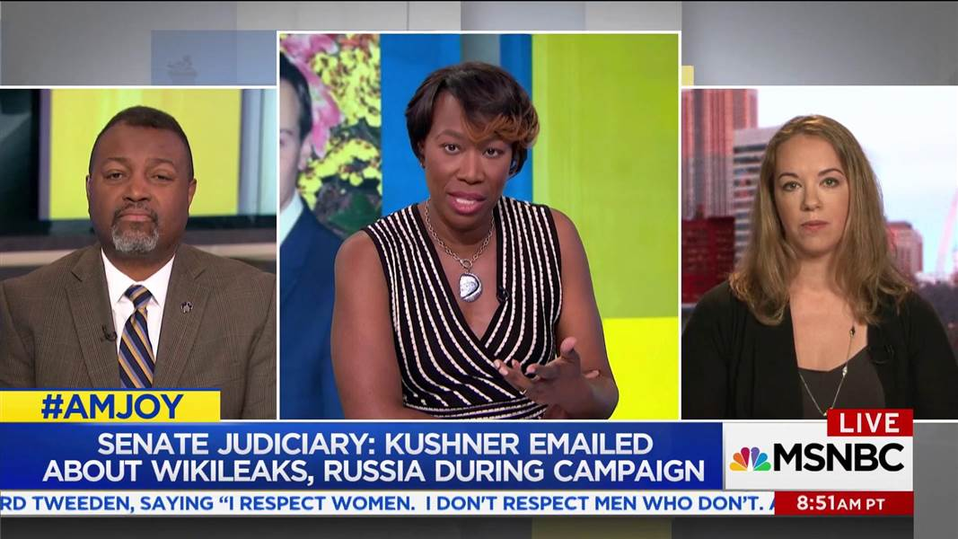 Kushner emailed about WikiLeaks, Russia during campaign: https://t.co/pqNTO4xd1g