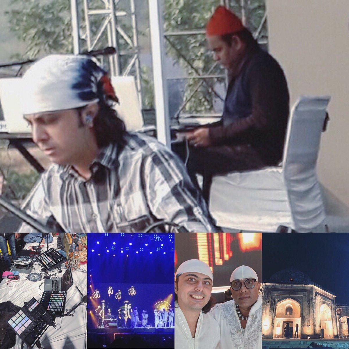 It was a memorable concert last night @Sufi Route, Qutb Minar, Delhi.   Thanks to ARRahman sir, @KMMC_Chennai &amp; BTOS.  #live #music #sufi #technology #grand #rehearsal#devotional #spiritual #vibes #ARRahman #ARR #KM #KMMC #SUFI #ENSEMBLE #BTOS #ProMusicals #Musician #Music #India<br>http://pic.twitter.com/DEB4VvvB5t