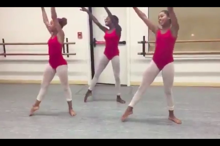 These Black ballerinas are EVERYTHING: https://t.co/wuUjYoOJOb