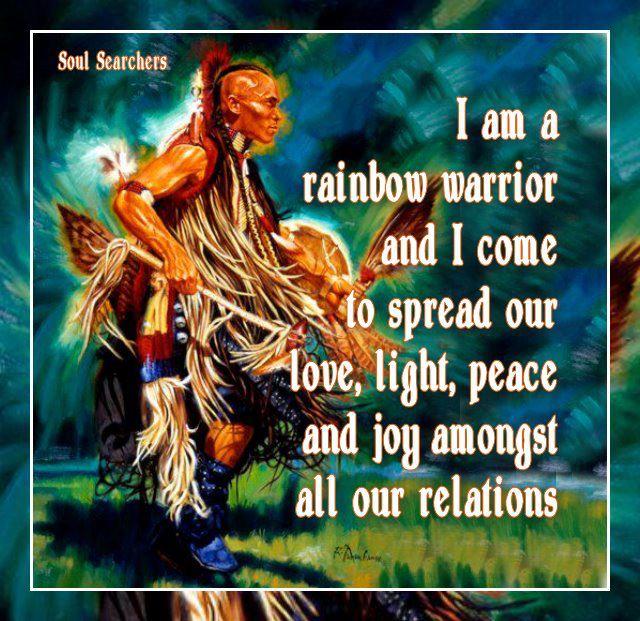 "Native American Rainbow Warriors: Cyber Spirit Web On Twitter: ""#Love #Light #Peace #Joy"