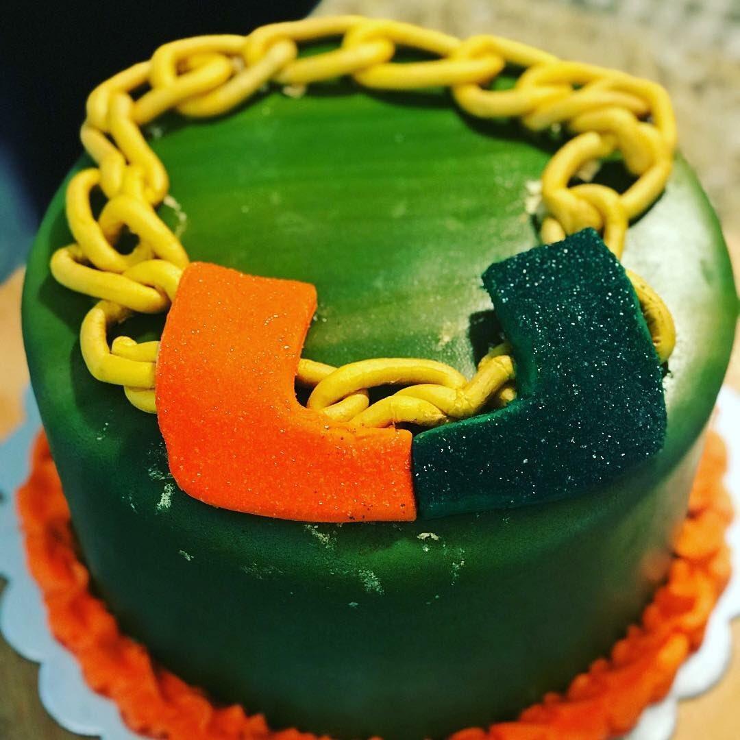 Miami Hurricanes Birthday Cake Best Birthday Cake 2018