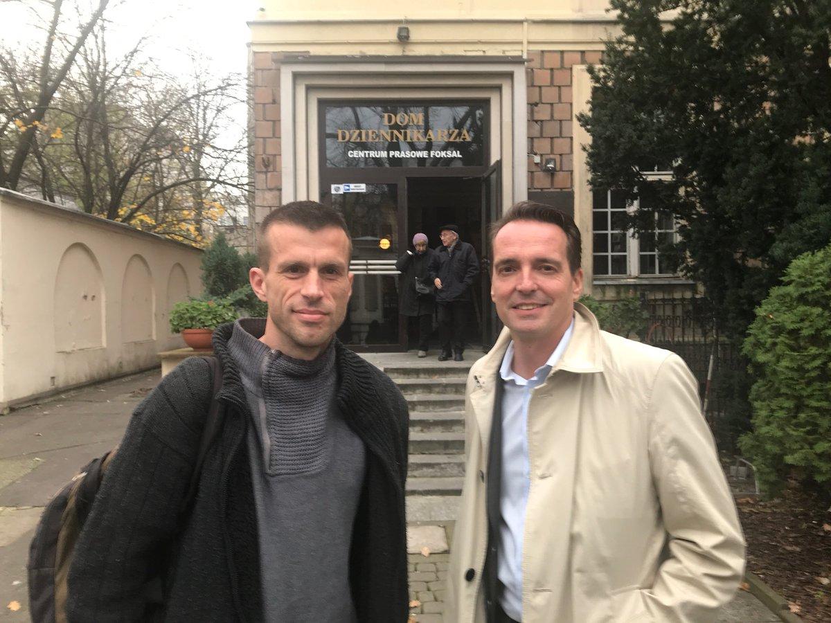 Florian Inhauser On Twitter Unser Experte In Sachen Medien In Polen Jan Opielka N Ost Bordercrossingjournalism Srfglobal