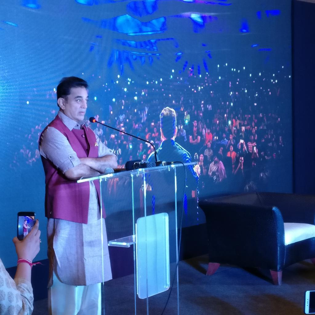 Superstar Rajinikanth comes behind Kamal Haasan