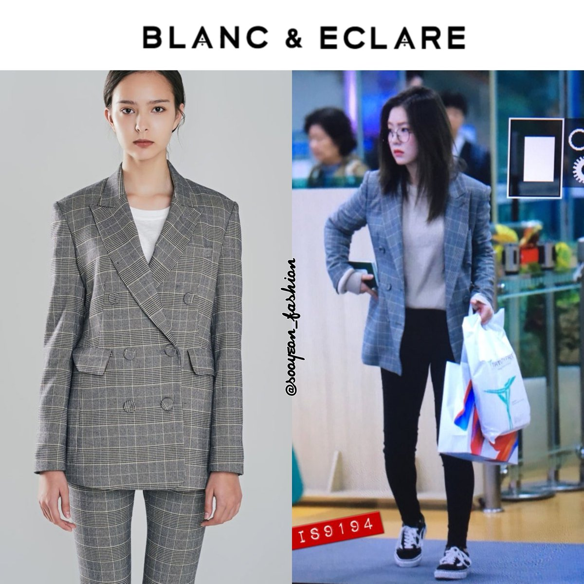 Jsy Fashion On Twitter 171107 Red Velvet S Irene Wearing Blanc Eclare Gimpo Airport Jacket Davis 375 Https T Co C3xx8p7uib Is9194 Https T Co Yg2r1rezfe