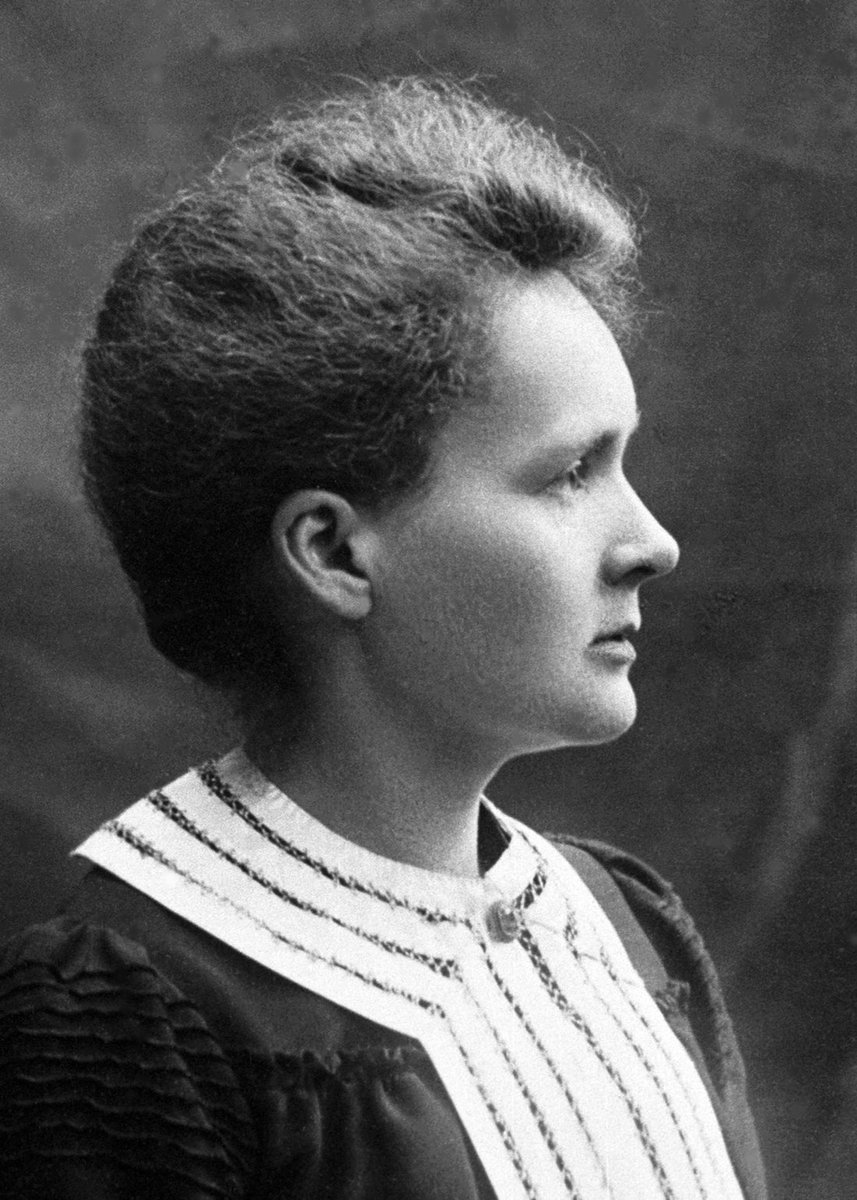 Happy 150th birthday to Marie Curie, née Sklodowska, the first person to be awarded the Nobel Prize twice!