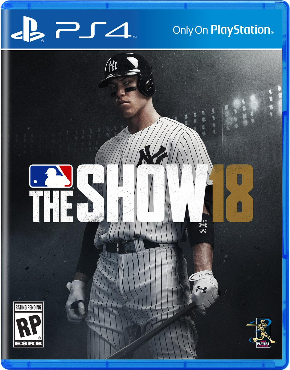 The verdict is in.   Aaron Judge is the cover star of MLB The Show 18.