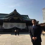 長久手市遺族会御一行様の恒例の靖国参拝を、秋晴れの靖国神社でお迎えしました。 pic.twitter…