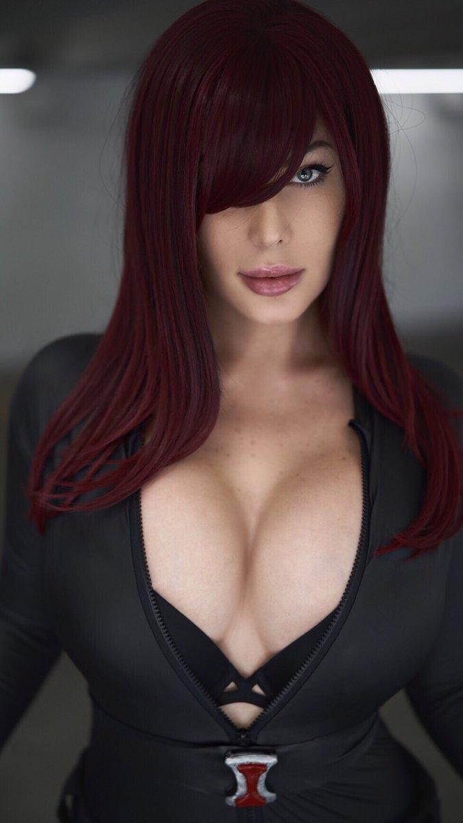 braless Hot Veronika Black naked photo 2017