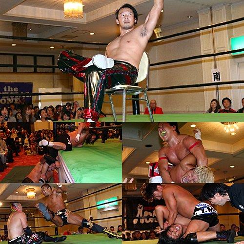 """Pro Wrestling NOAH: Resultados """"Global League 2017 - Día 11"""" Shiozaki y Tanaka, líderes 7"""