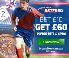 #befred offering #bet  10 get 60 #bonus &gt;  http:// bit.ly/BETFREDdouble  &nbsp;   #golf #darts #rugby #bookiebashing #bets <br>http://pic.twitter.com/8MYW7zvWXW
