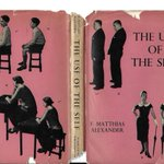 Wonderful 1955 dust jacket from The Use Of The Self by FM Alexander…note the X & ticks!