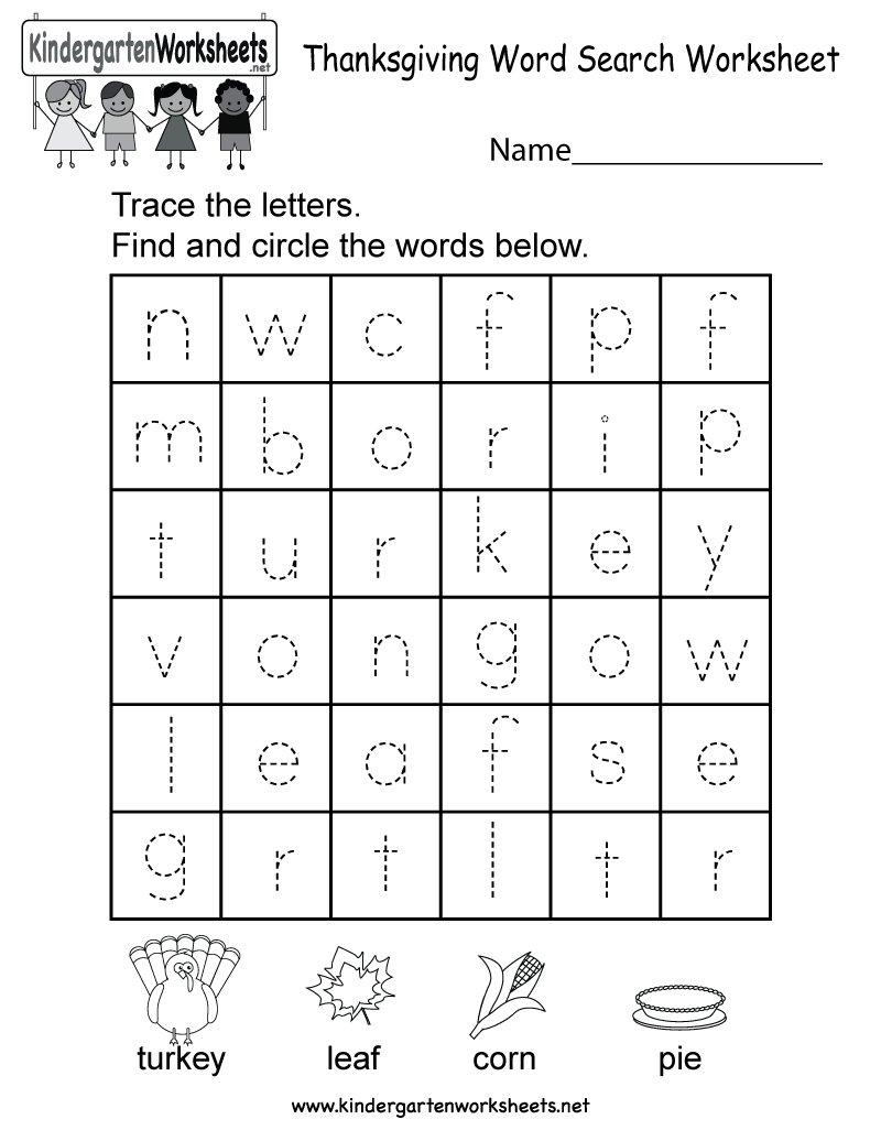 worksheet. Kindergarten Thanksgiving Worksheets. Grass Fedjp ...