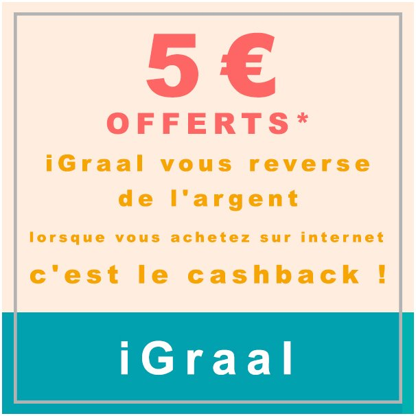 #iGraal 5€ | I love #shopping !  https://www. parrainages.net/igraal  &nbsp;   #Remise #Deal #Cashback #Bonplan #Economie #Budget #Magasins #Reduction #Promo #Mode<br>http://pic.twitter.com/i79OFay12X