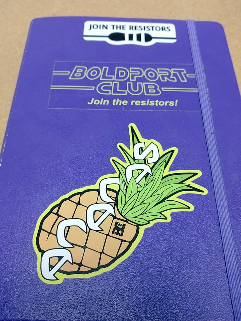 Oh what's this now? #BoldportClub