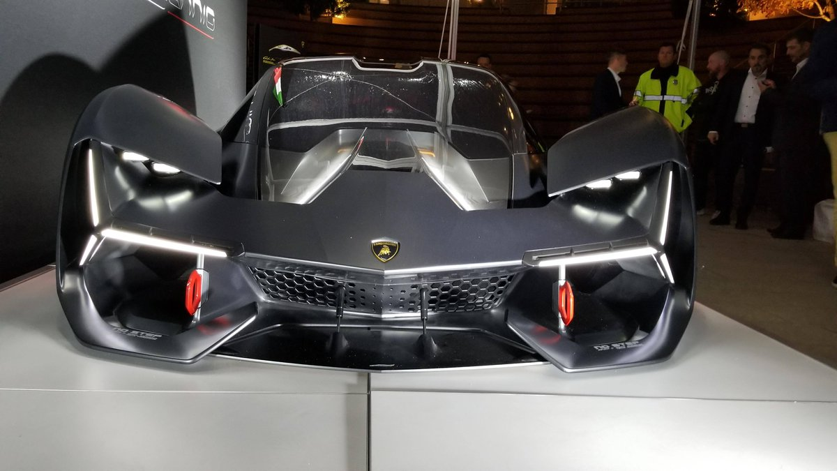 Gtspirit Com On Twitter Live Photos Of The New Lamborghini Terzo