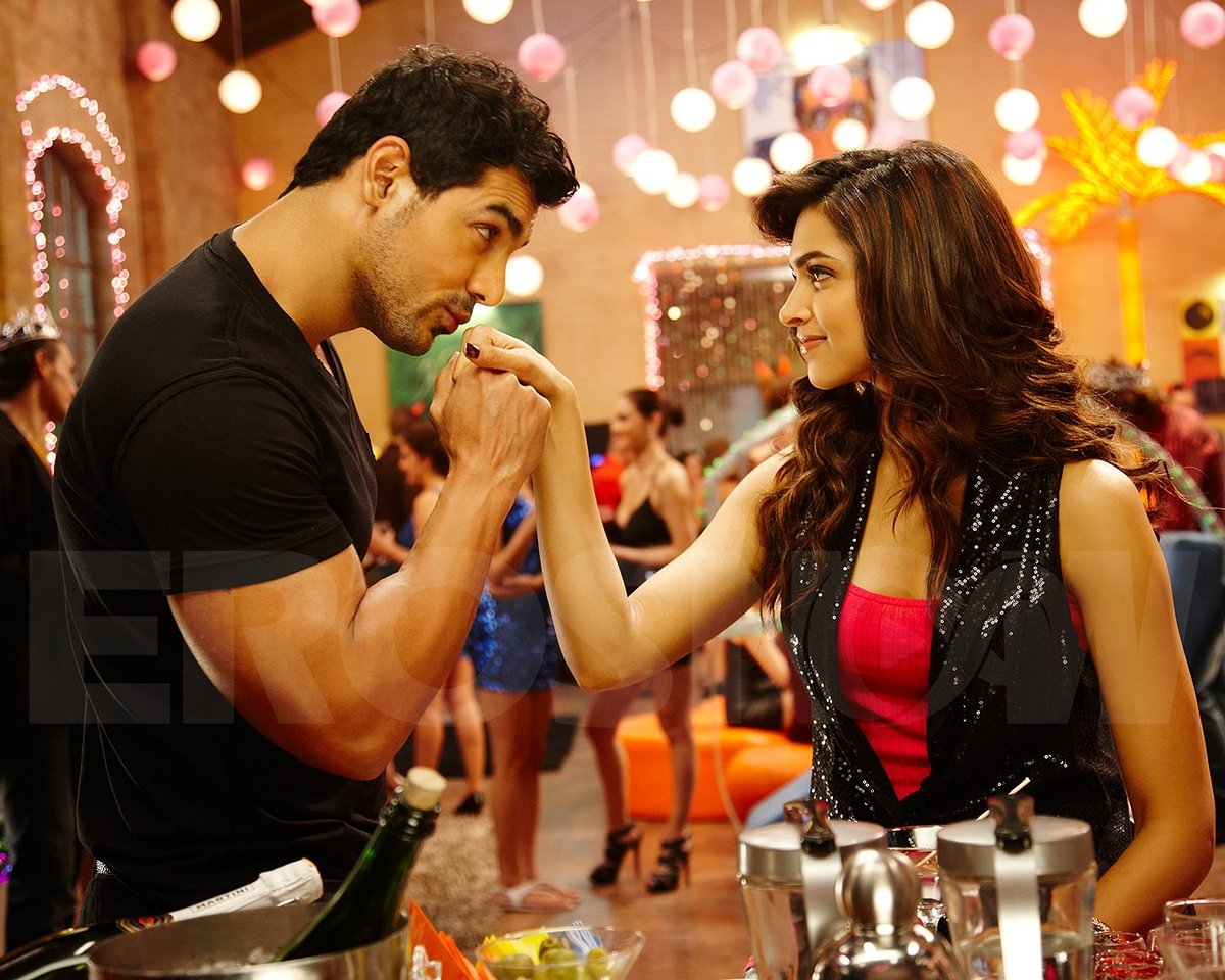 Eros Now On Twitter Can You Guess This Movie Johnabraham Deepikapadukone Erosnow