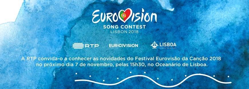 Hoje, às 15h30, vamos transmitir no Facebook RTP e no RTP Play mais novidades sobre a #Eurovision. Façam parte do momento!