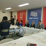 党本部で拉致問題対策本部会議。家族会の飯塚代表、横田早紀江さんからトランプ大統領との面談について、政…