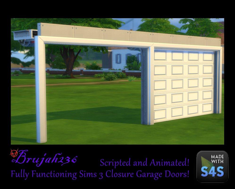 Simsvip On Twitter Functional Garage Doors Double Sliding Doors