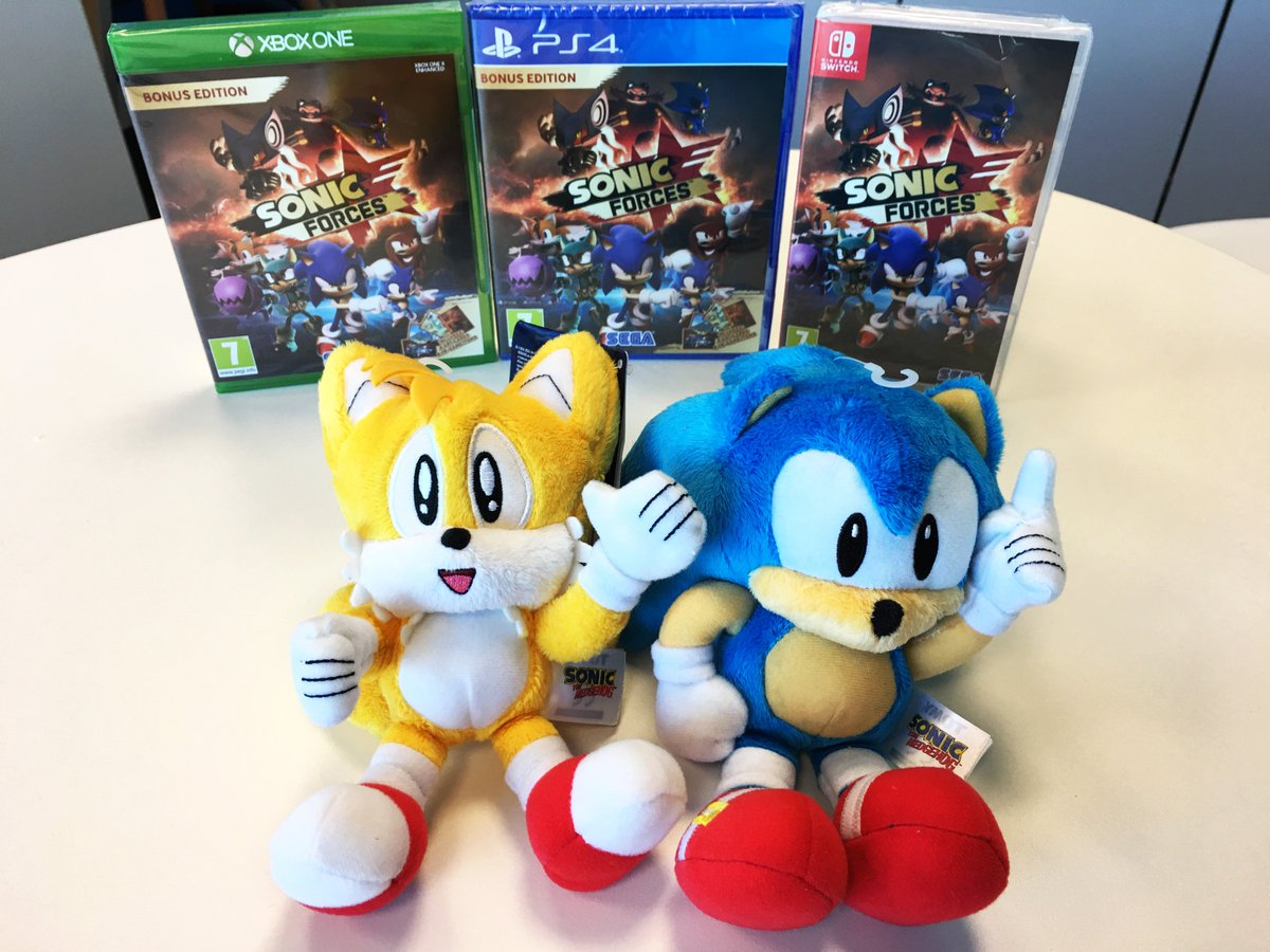 #SonicForces is out now on #PS4, #XboxOne, #NintendoSwitch and #Steam! Which version are you getting?