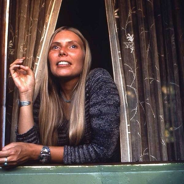 Happy Birthday Joni Mitchell you have brought me so much joy over the years!!!!... Whaler