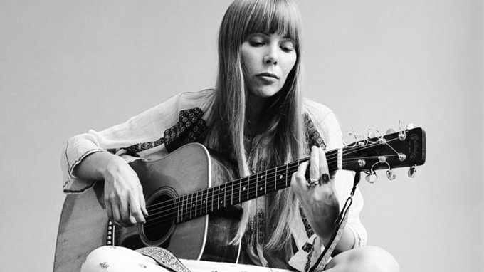 Happy birthday to Joni Mitchell, who is 74 years old today!