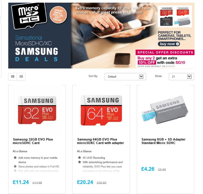 Massive savings on @Samsung Flashhttp://ow.ly/nmuU30gobEK   #RT #Follow #Win Save Share #MultiBuy - buy any 2 and get Extra 10% off <br>http://pic.twitter.com/9ZF9CB969t