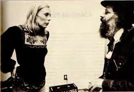 - Joni Mitchell on the Allen Ginsberg blog - Happy Birthday today Joni Mitchell -