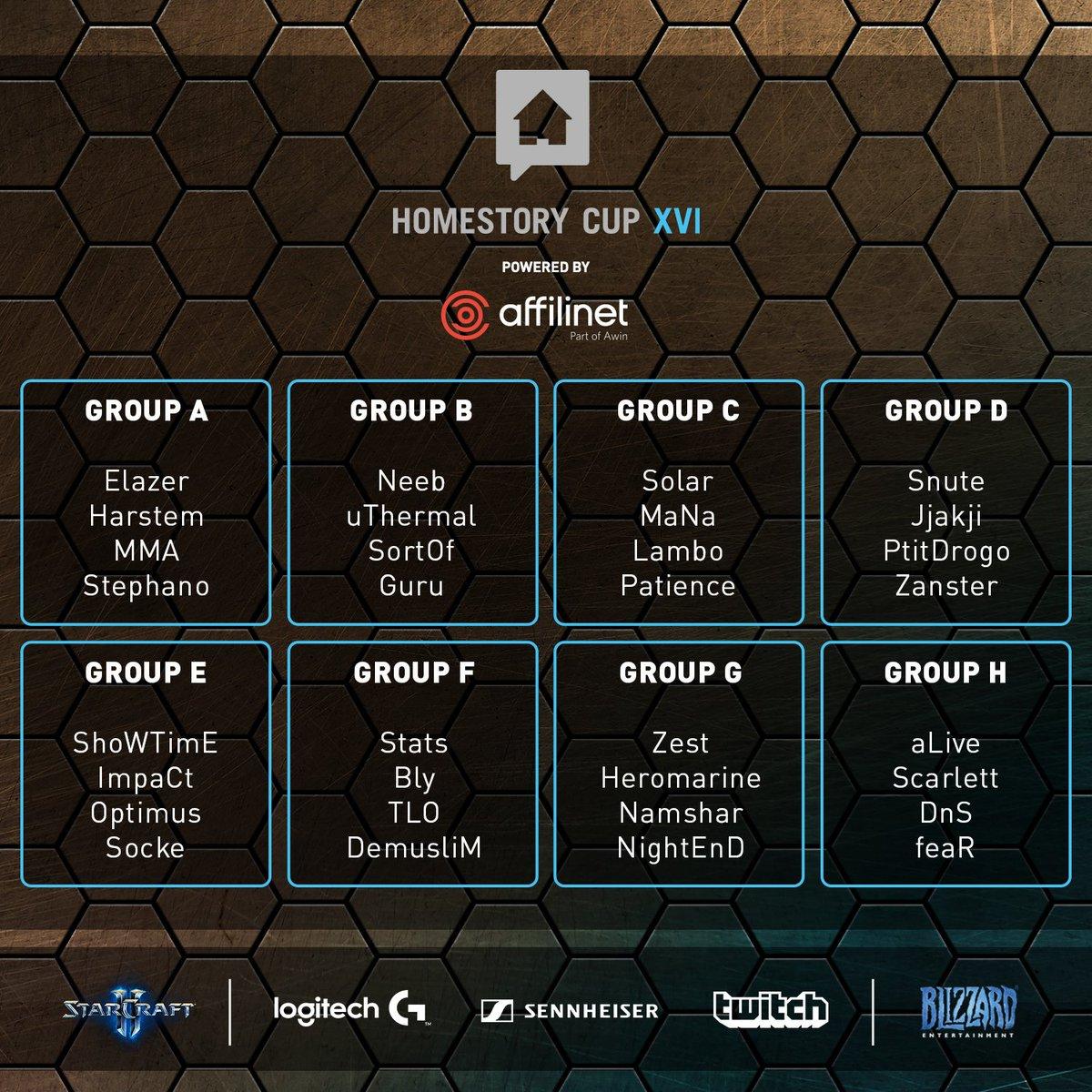 HomeStory Cup XVI