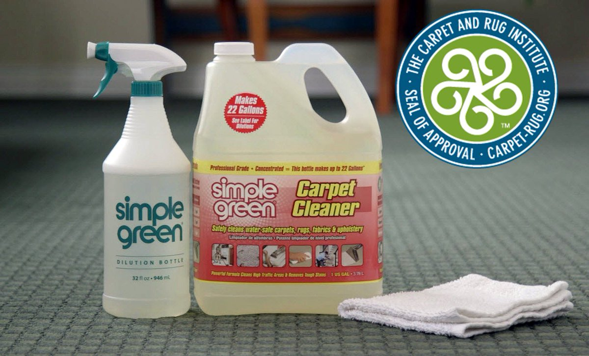responsible depend on simple greenu0027s prograde carpet cleaner