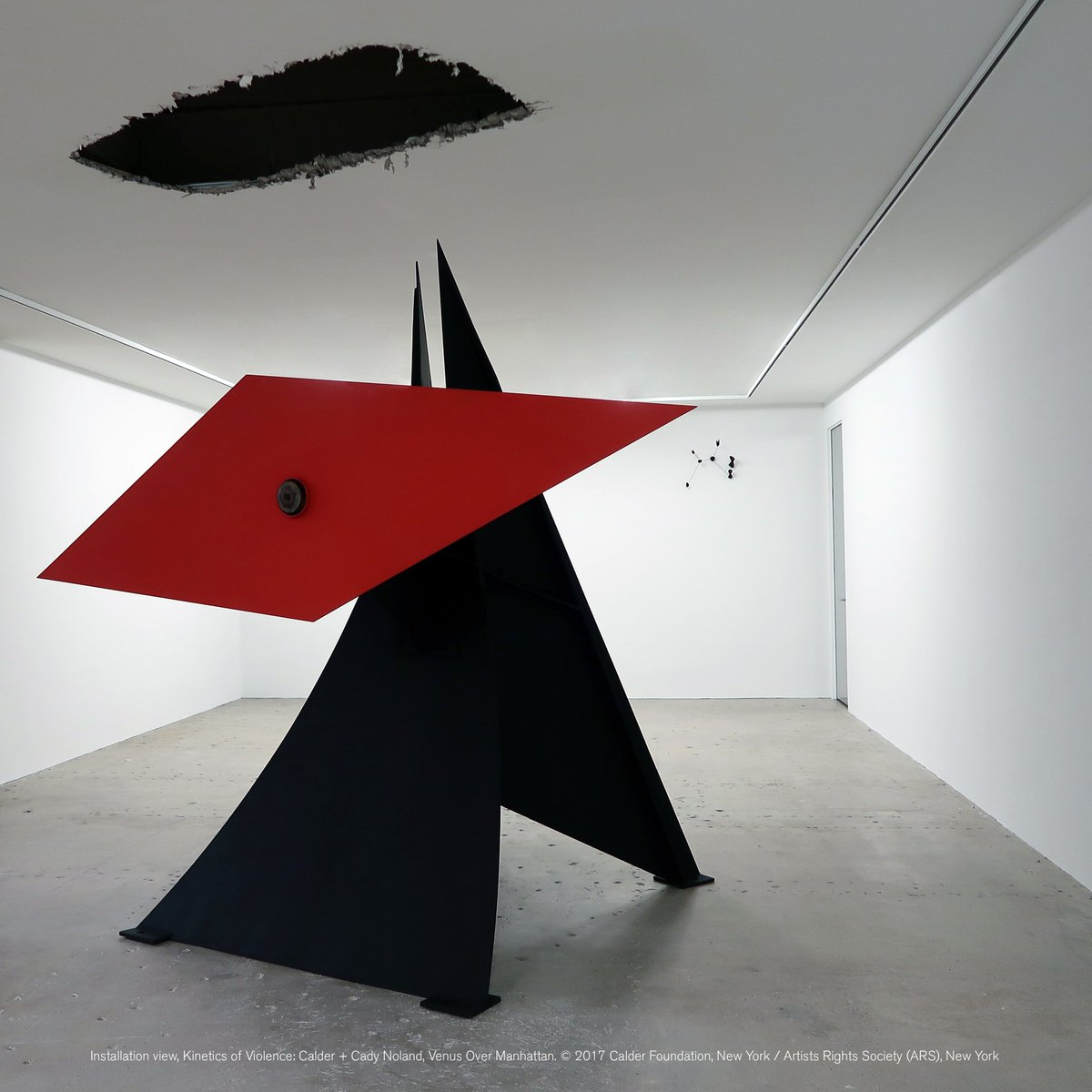 Kinetics of Violence: #Calder + #CadyNoland opens tonight at Venus Over Manhattan (@V_over_M)! Join us from 6–8PM  http:// bit.ly/2h85B6p  &nbsp;  <br>http://pic.twitter.com/Oc9ATtrXMB
