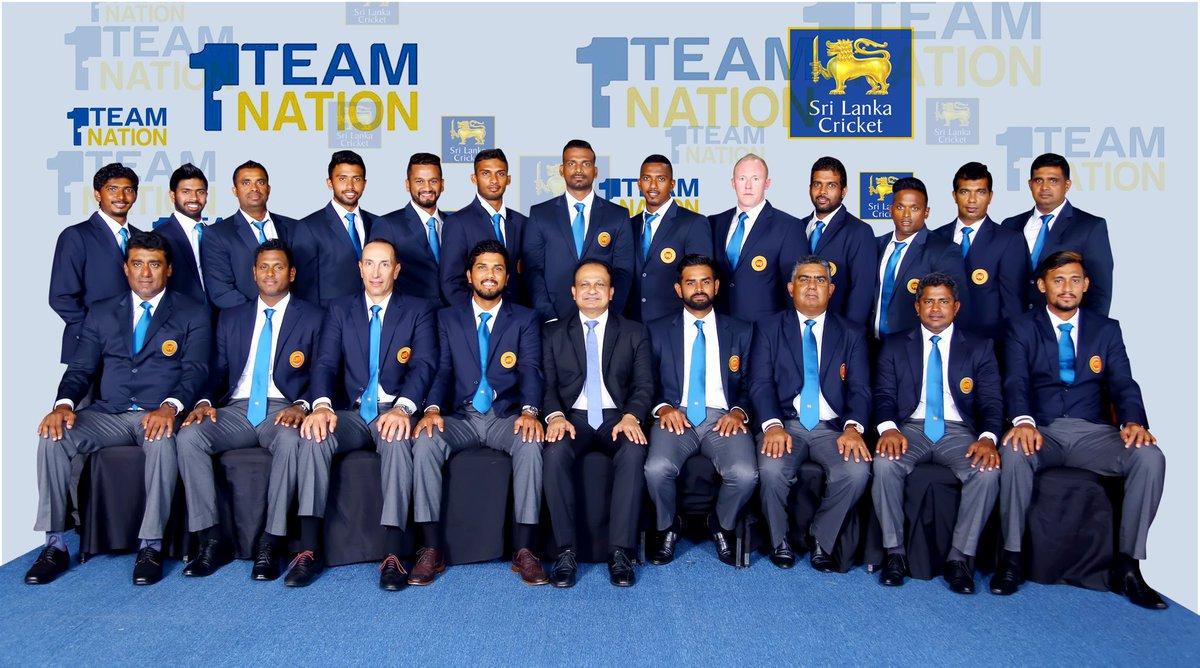 Sri Lanka departs for INDvSL tour.