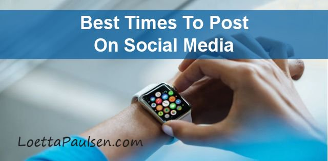 Best times to post on Social Media to get Leads and Sales for your #HomeBusiness ==&gt;  http:// bit.ly/2i6awaN  &nbsp;  <br>http://pic.twitter.com/fb9gWmAgGG