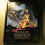 私の部屋ですが…STARWARSのポスターにSTARWARSのベッドシーツ、STARWARSのブラン…