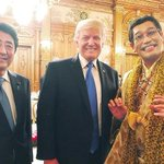 まるで日米結婚式!? トランプ米大統領を招いた晩餐会で「見たことない」光景 きっかけはピコ太郎…あち…