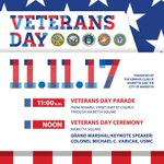 Celebrate #VeteransDay on November 11 during the Veterans Day Parade and Ceremony on the Marietta Square. https://t.co/bTZjGMKmVD