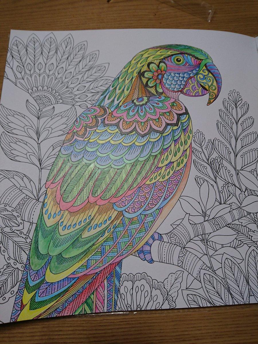 test ツイッターメディア - 100均の色鉛筆に限界を感じている・・・ #大人の塗り絵 #ダイソー https://t.co/4zzCmpHntB
