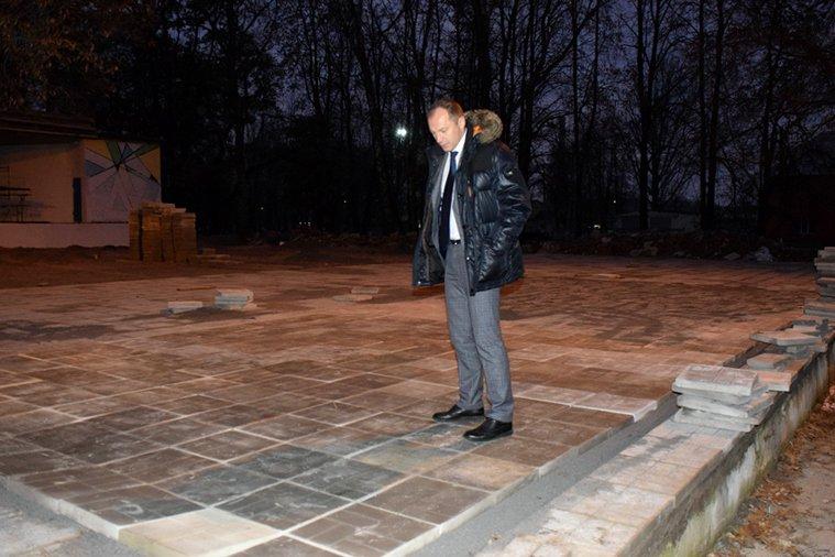 Николай Терехов проконтролировал ход работ в районе