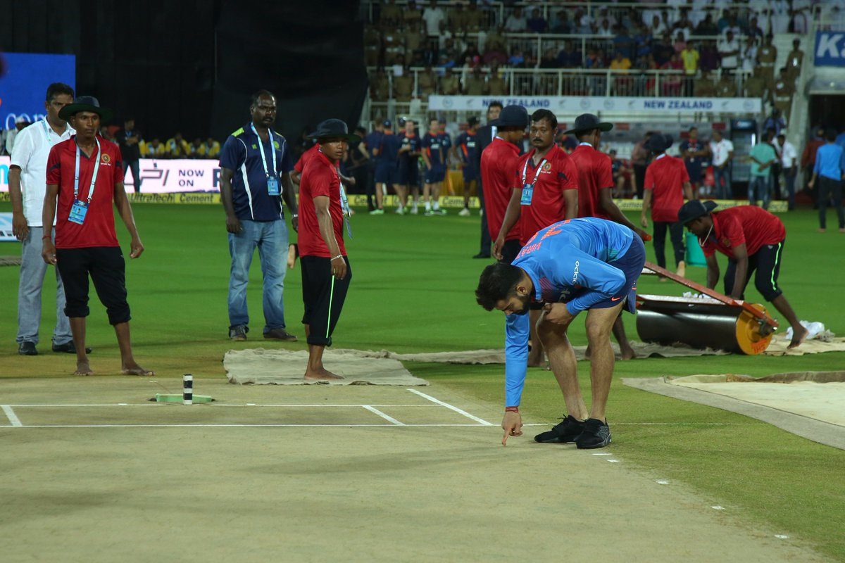 Thiruvananthapuram T20I Played Without National Anthems Being Played Before The Game