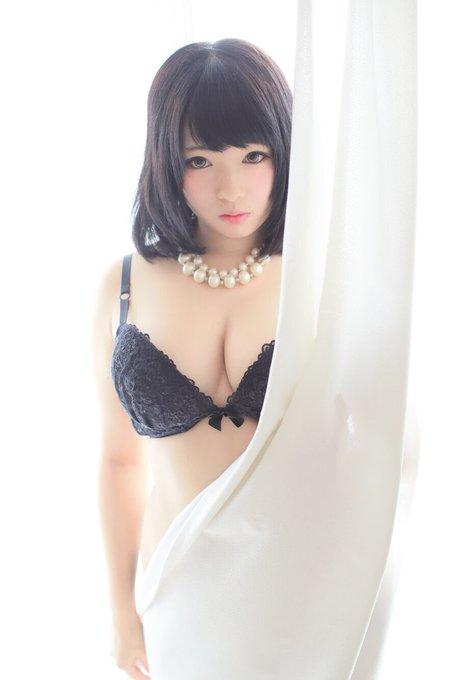 コスプレイヤーてんしちゃんのTwitter自撮りエロ画像21