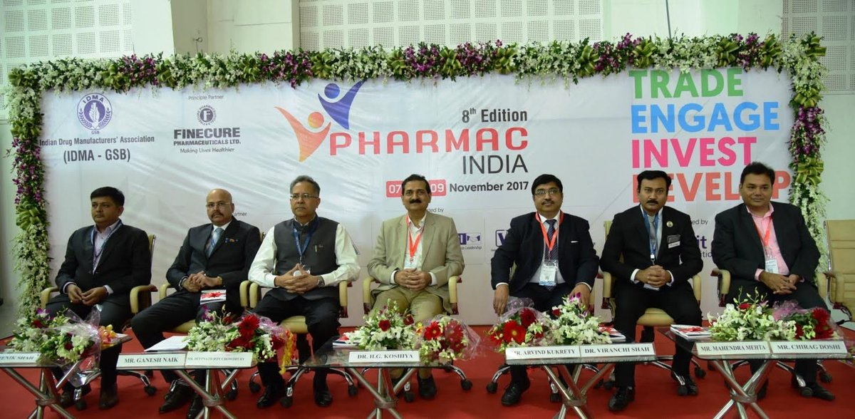 8th Edition of Pharmac India 2017 gets rolling in Gujarat