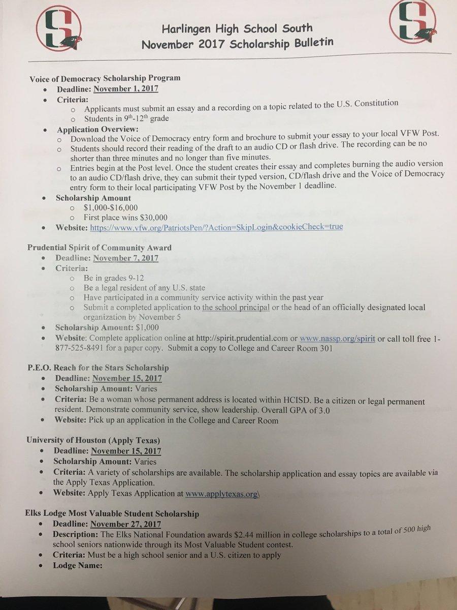 apply texas essays topics