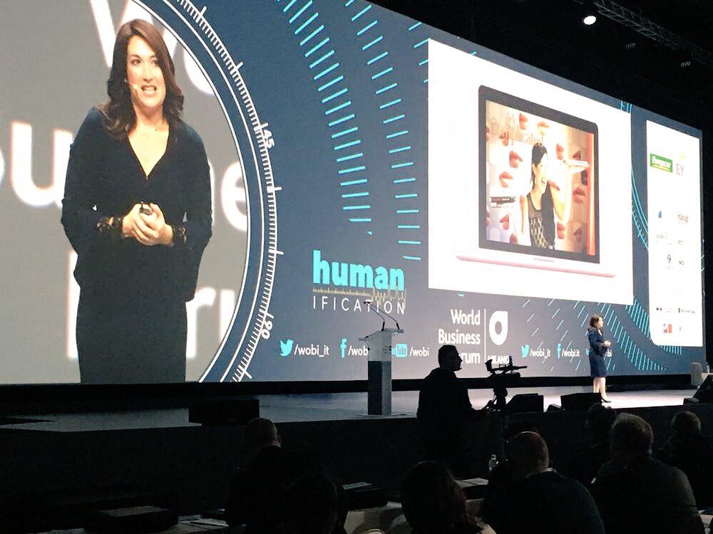 """RT @ninjamarketing: #WOBIMI @randizuckerberg: """"abbiamo bisogno di tecnologia che ci salvi dalla tecnologia!"""" https://t.co/idx4rDF485"""