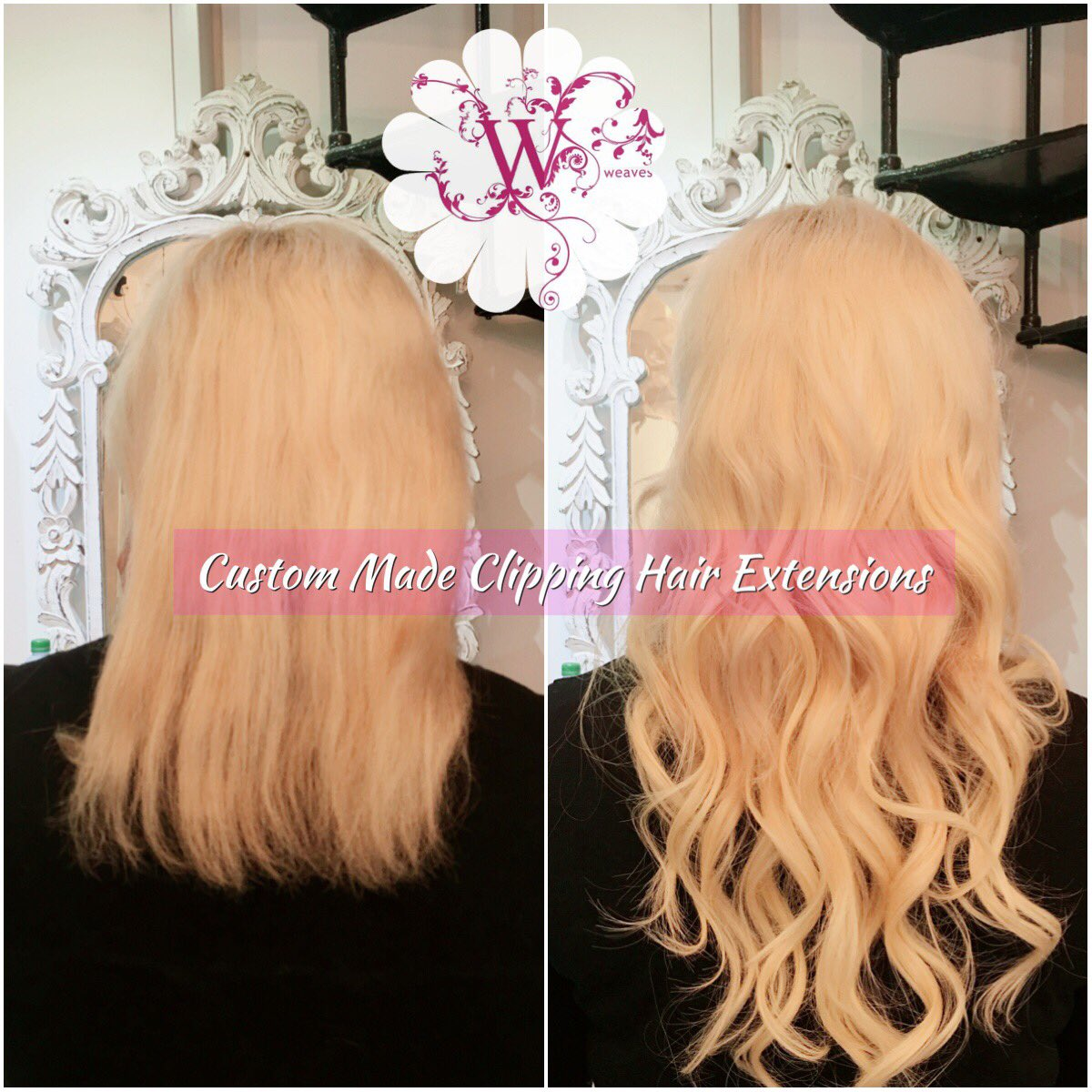 Weaves On Twitter Custom Made Clipping Hair Extensions Perfect