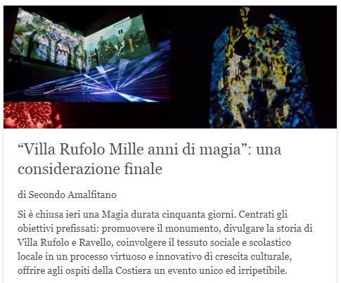 Villa Rufolo Mille anni di magia: una co...