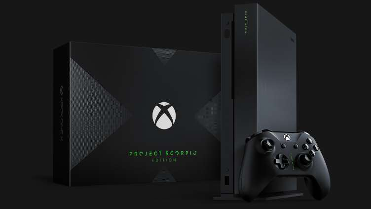 The @Xbox One X is here! Who's picking one up today? #ProjectScorpio https://t.co/nSuzHnVyou