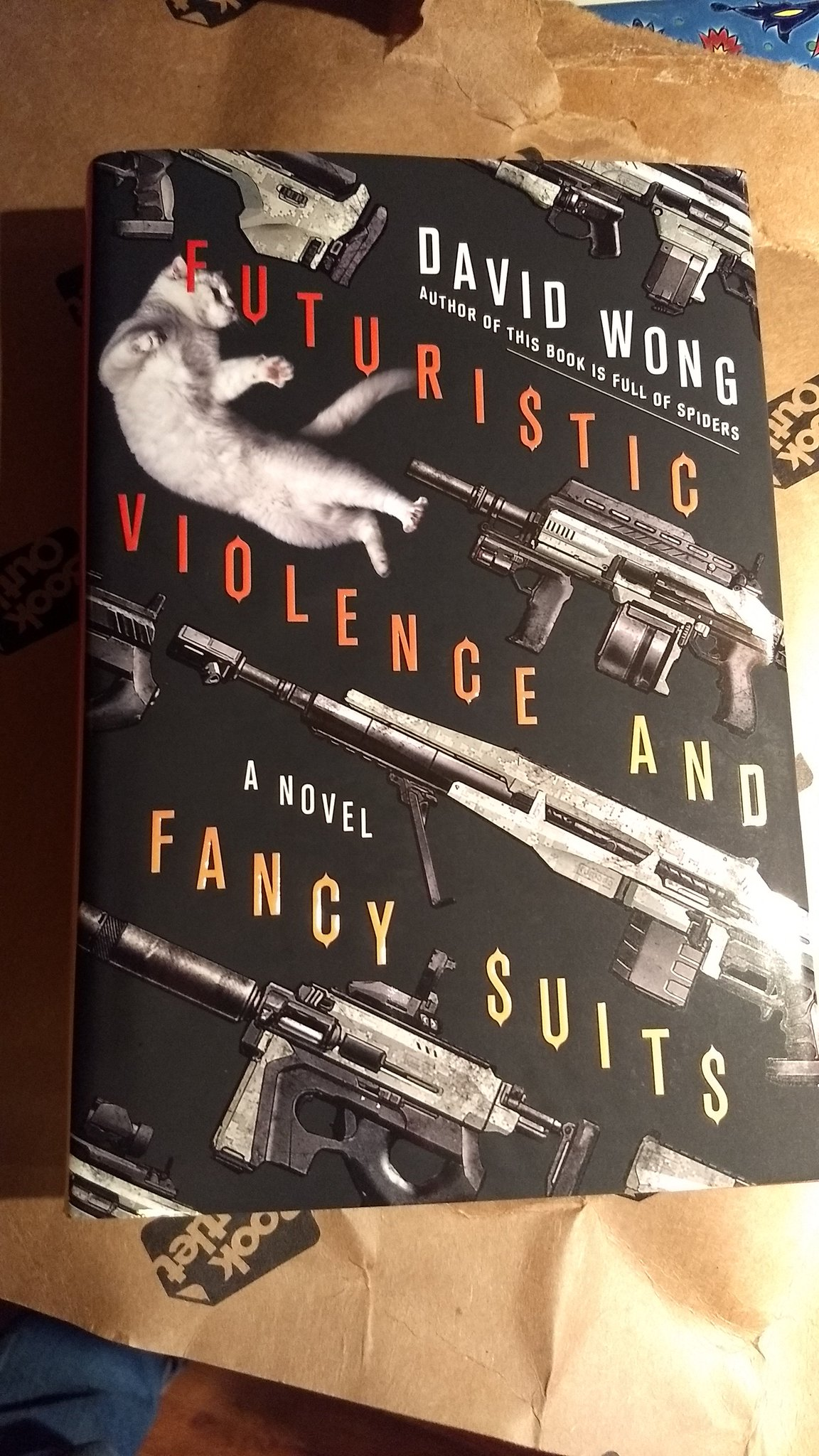 Futuristic Violence and Fancy Suits, hardcover