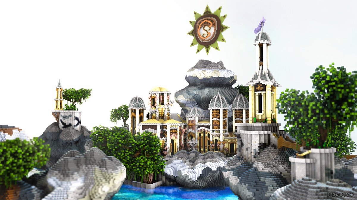 Historybt On Twitter Check Out This Amazing Fantasy Project By Minecraft Clock Our Builder Commonbuilds